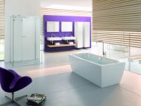 Purple Designer Bathroom