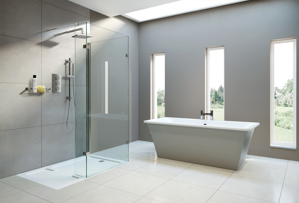 wetroom linear drain kudos wet base products room shower with uk bathrooms