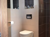 Bathroom With Small Alcove